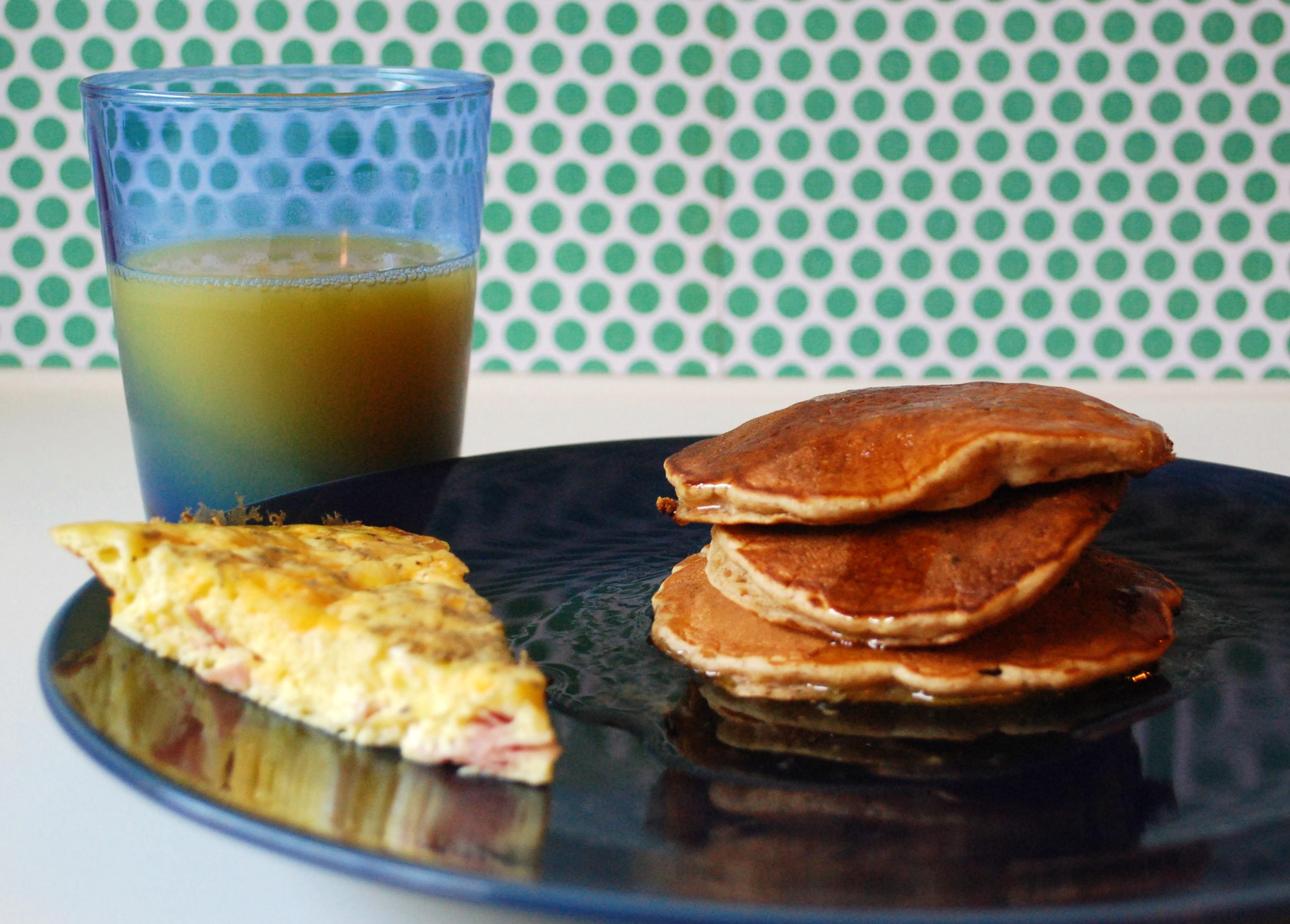 Oatmeal-Raisin Pancakes. | Make Myself at Home