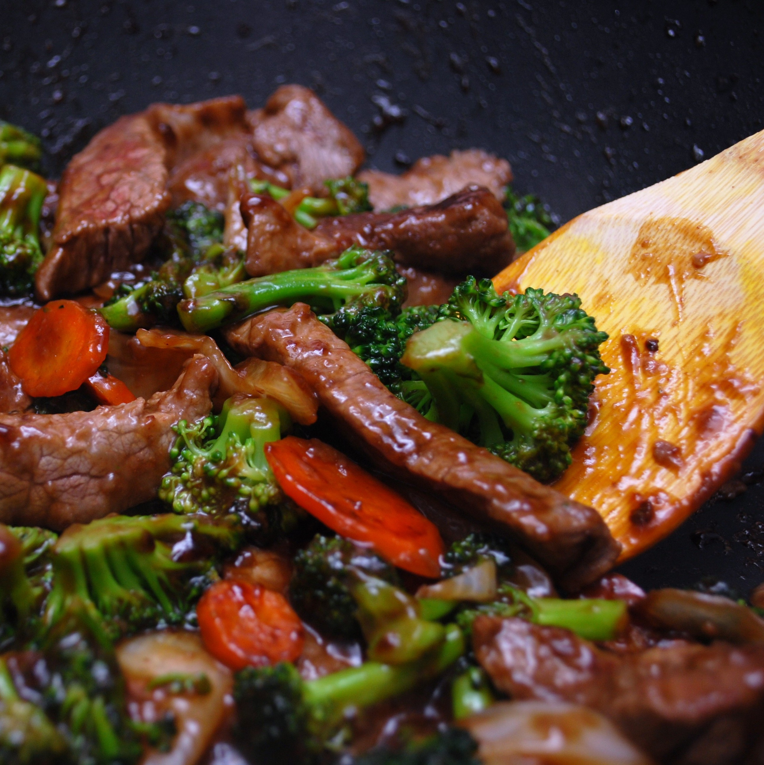 Beef With Broccoli Carrots Make Myself At Home