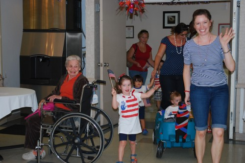 nursing home parade