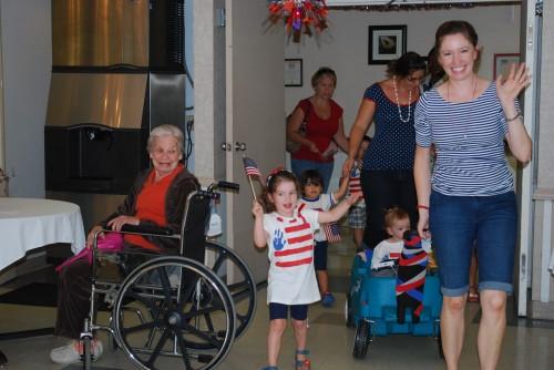 nursing home parade